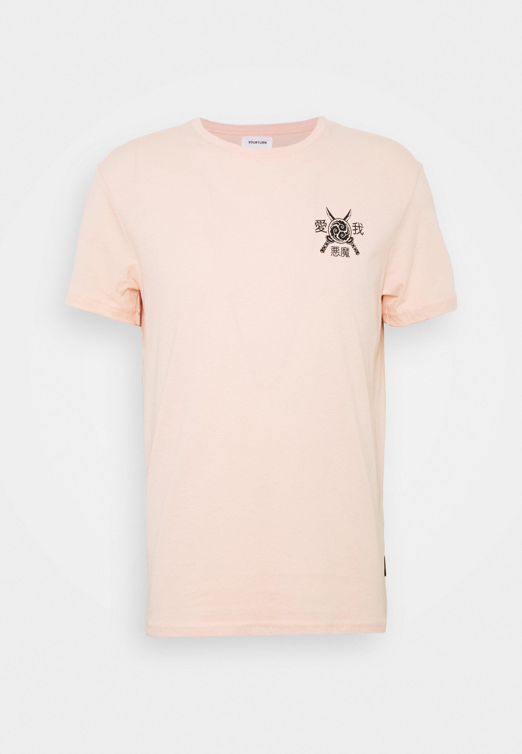 Yourturn T-shirt Print - Pink