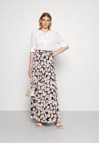 Diane von Furstenberg - LILLIAN SKIRT - Maxi skirt - black - 1