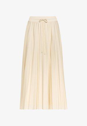 Pleated skirt - champagnekleurig