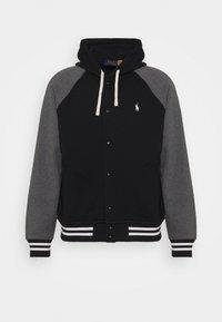 Polo Ralph Lauren - BASEBLHOODM LONG SLEEVE - Zip-up sweatshirt - black - 5