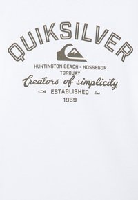 Quiksilver - SCREEN TEE - Long sleeved top - white - 2