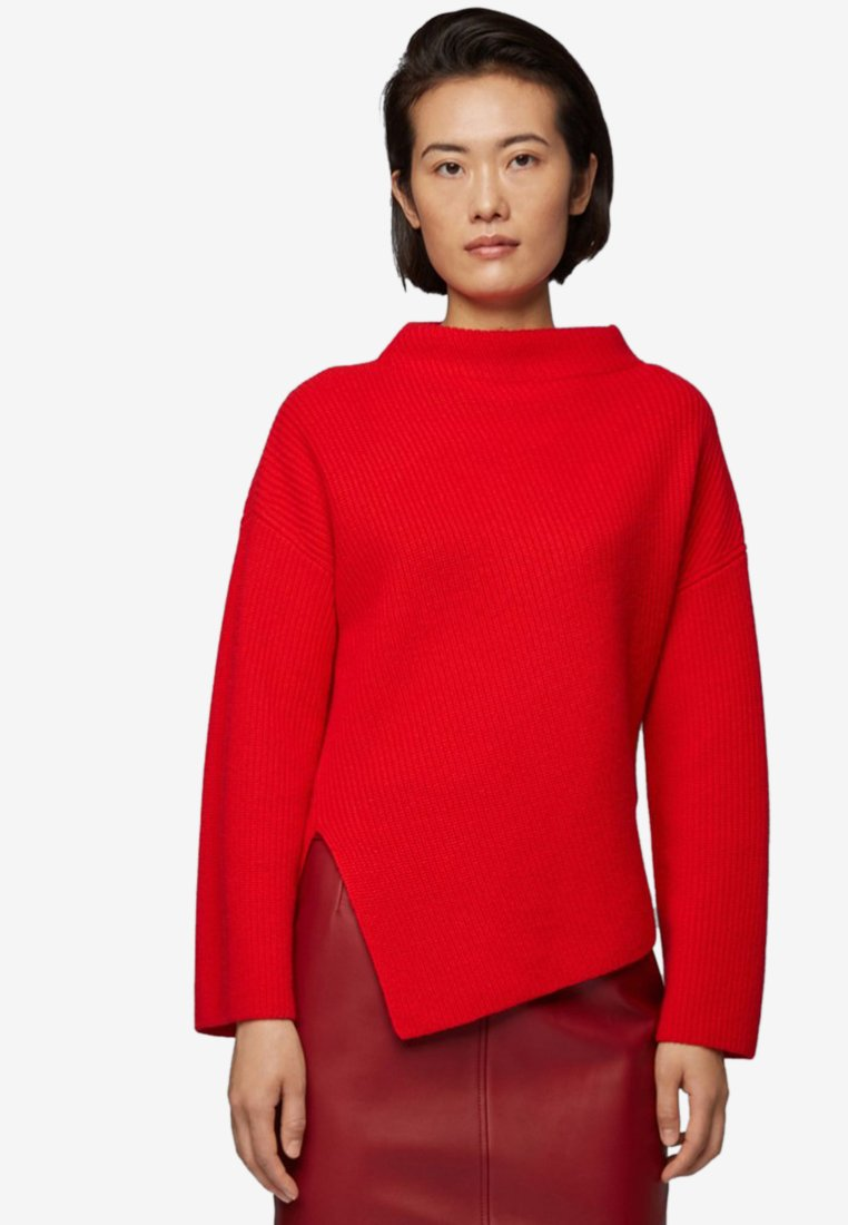 BOSS - Sweatshirt - red