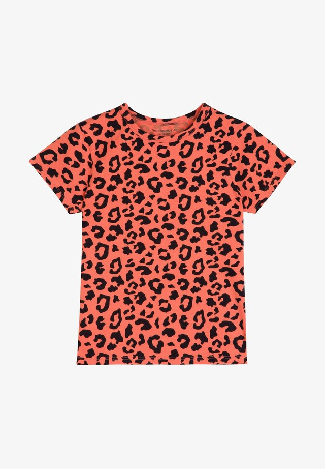 T-shirt imprimé - savanna red