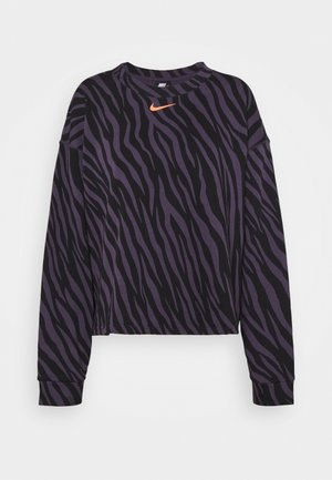Sweatshirt - dark raisin