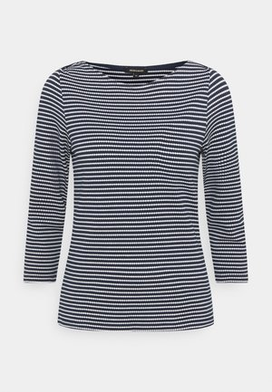 STRIPED SHIRT - Long sleeved top - marine multicolor