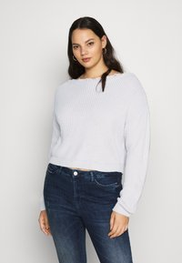 Missguided Plus - SHOULDER JUMPER - Jumper - grey - 4