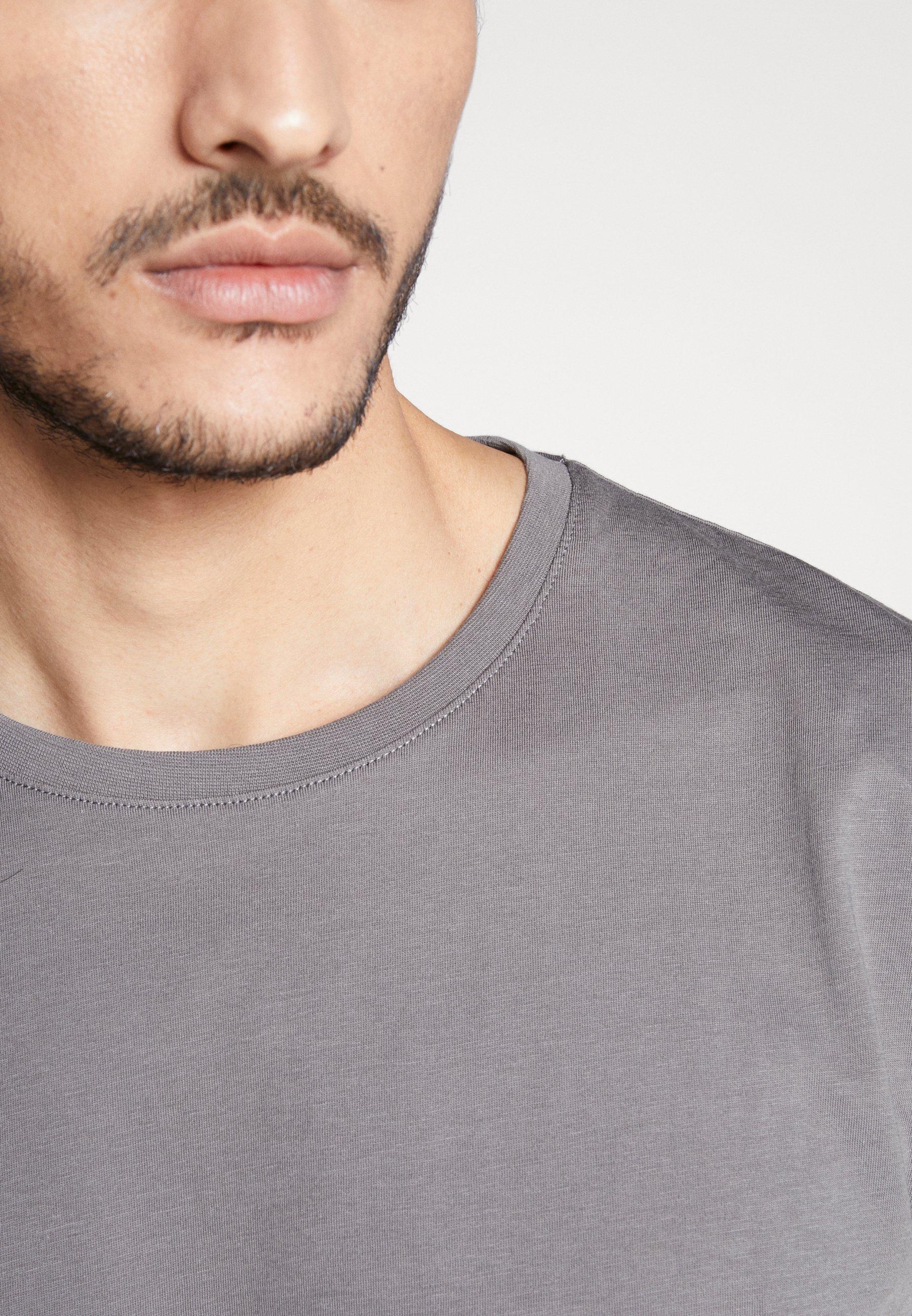 Esprit Basic T-shirt - dark grey 3mDzm