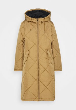 SLFMARAN PADDED COAT - Frakker / klassisk frakker - tigers eye