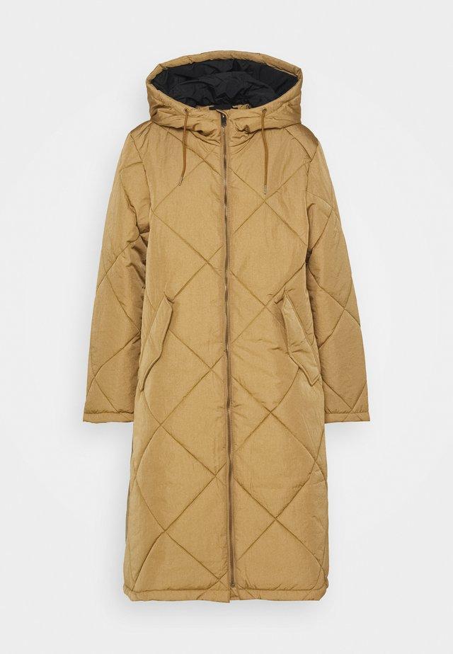 SLFMARAN PADDED COAT - Cappotto classico - tigers eye