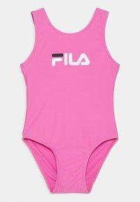 Fila - DINA SWIMSUIT - Swimsuit - super pink - 0