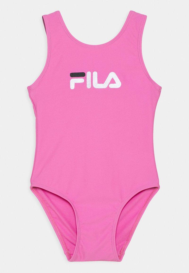 Fila - DINA SWIMSUIT - Swimsuit - super pink