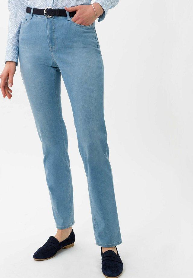 STYLE CAROLA - Slim fit jeans - used sky blue