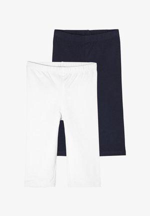 Leggings - Trousers - white/navy