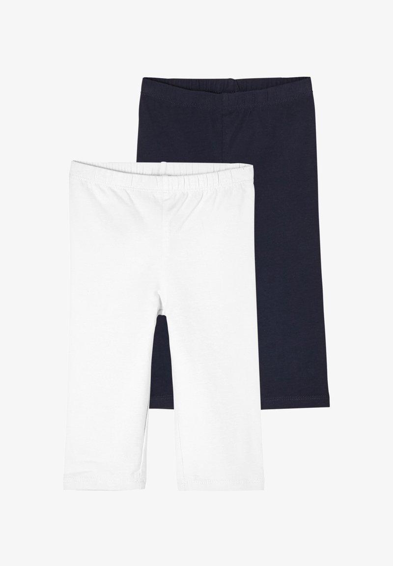 s.Oliver - Leggings - Trousers - white/navy