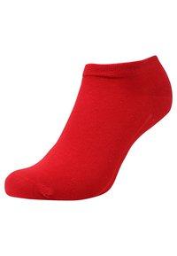 camano - SOFT SNEAKER BOX 7 PACK - Socks - true red/fog melange/blue/white - 2