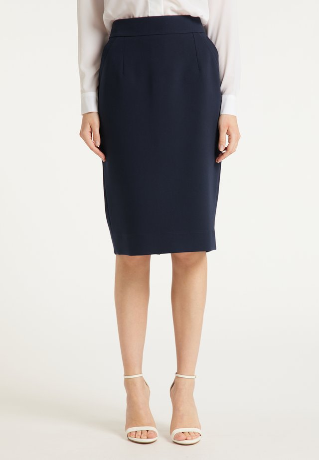 Blyantnederdel / pencil skirts - marine