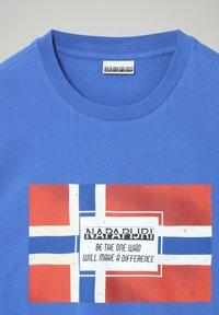 Napapijri - SERA - Print T-shirt - blue dazzling - 3