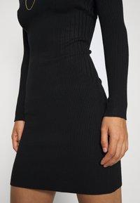 Even&Odd - JUMPER DRESS - Etuikjole - black - 5