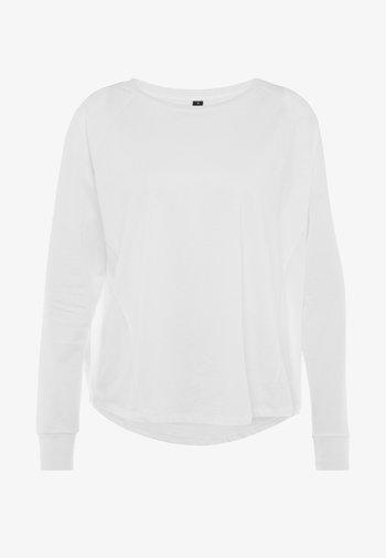 ACTIVE LONGSLEEVE  - Topper langermet - white