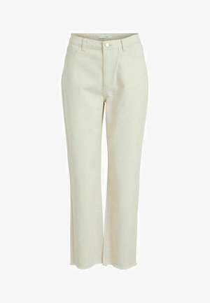 HIGH WAIST - Straight leg jeans - birch