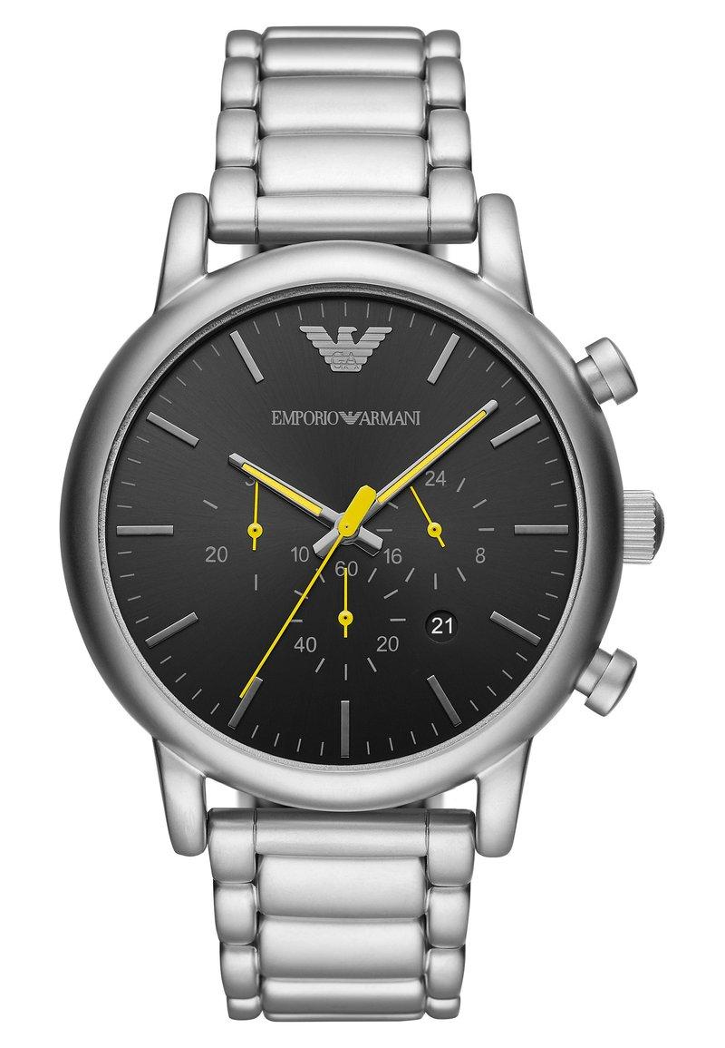 Emporio Armani - LUIGI - Cronografo - silver-coloured
