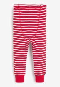 Next - CHRISTMAS APPLIQUÉ STRIPE - Pyjama set - red - 6