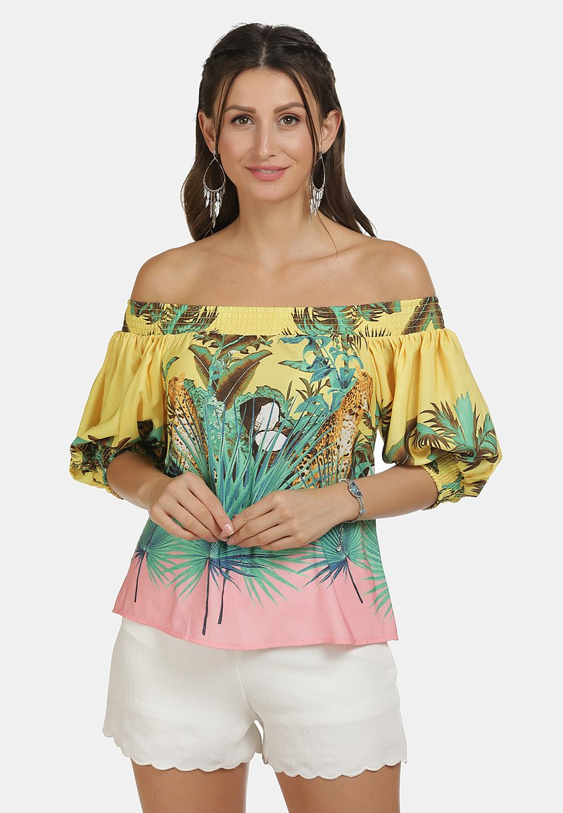 IZIA - Blouse - tropical print