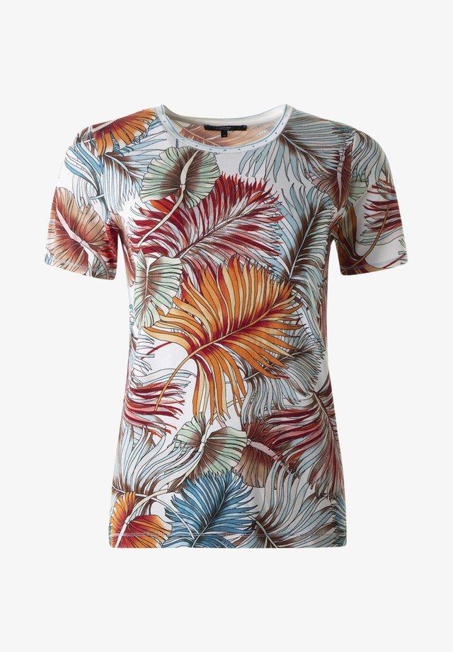 Print T-shirt -  lachscombo