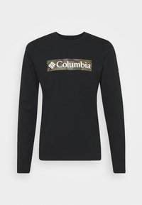 Columbia - LOOKOUT POINT GRAPHIC TEE - T-shirt à manches longues - black - 3