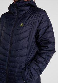 Salomon - DRIFTER HOODIE - Outdoor jacket - garnet rose/night - 5