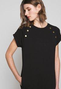 Barbour International - HURRICANE DRESS - Sukienka z dżerseju - black - 4