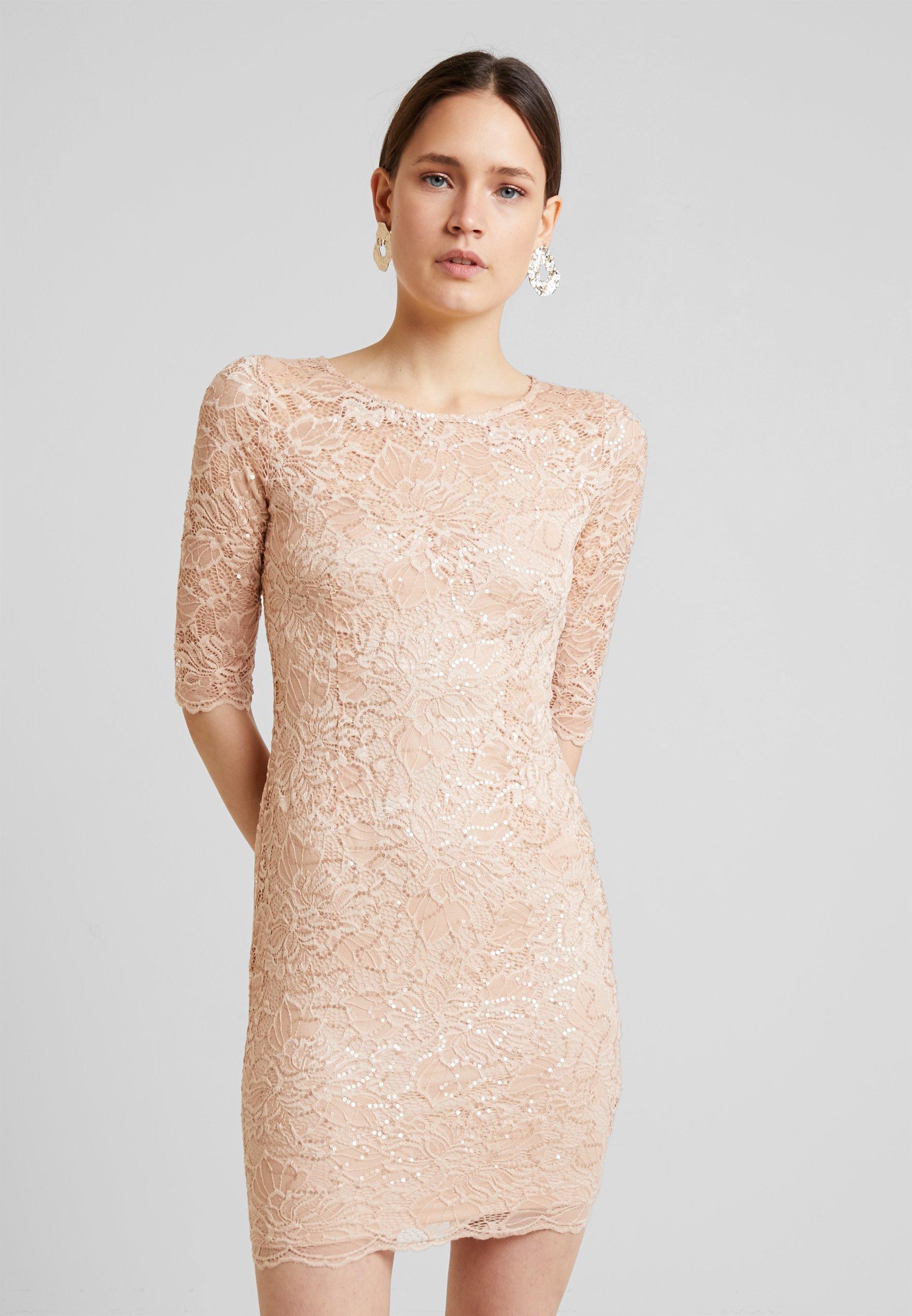 bonnie dress - cocktailkleid/festliches kleid - pink champagne