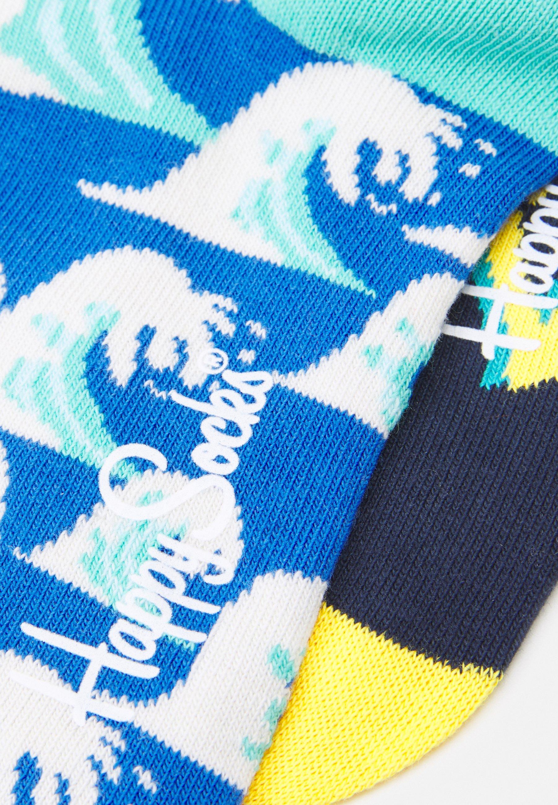 Women WAVE SOCK/BIG ANCHOR SOCK UNISEX 2 PACK - Socks