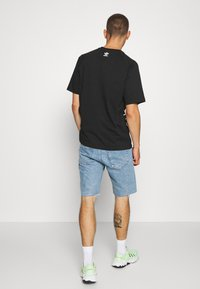 adidas Originals - OUT TEE - Print T-shirt - black/white - 2