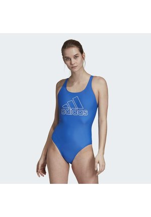 ATHLY V LOGO SWIMSUIT - Swimsuit - blue
