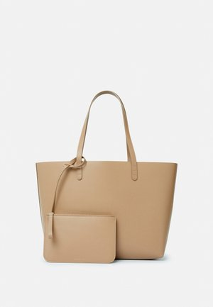 LARGE TOTE - Shoppingveske - biscotto/beige