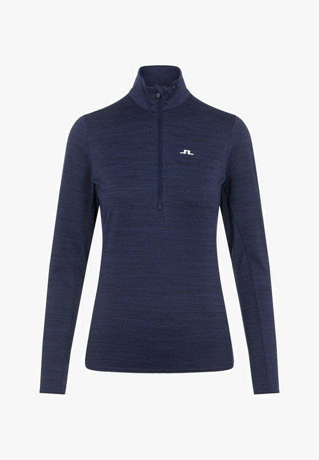 LAURYN  - Sports shirt - navy melange