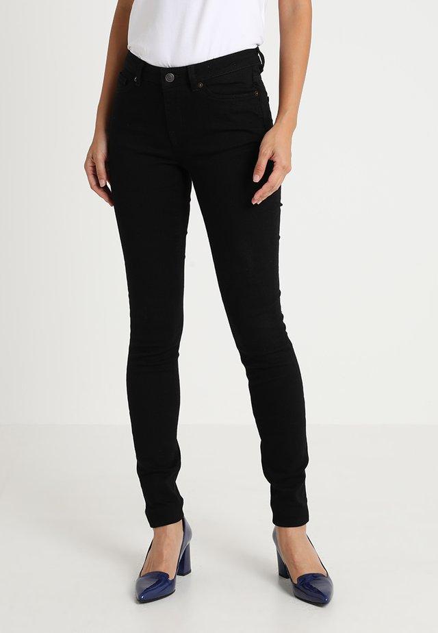 SLFIDA - Skinny džíny - black denim
