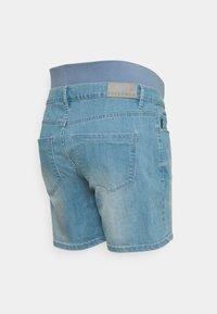 Supermom - LIGHT BLUE - Denim shorts - light blue denim - 1
