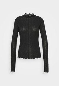 Free People - SOLID HIGH JUMP - Long sleeved top - black - 4