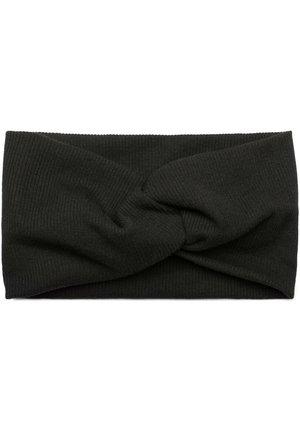 HAARBAND IN FEINRIPP MIT SCHLEIFE - Hair styling accessory - black