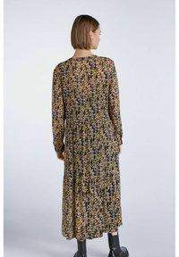 SET - Shirt dress - apricot black - 2