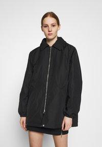 Weekday - BYRON COACH JACKET - Short coat - black - 0