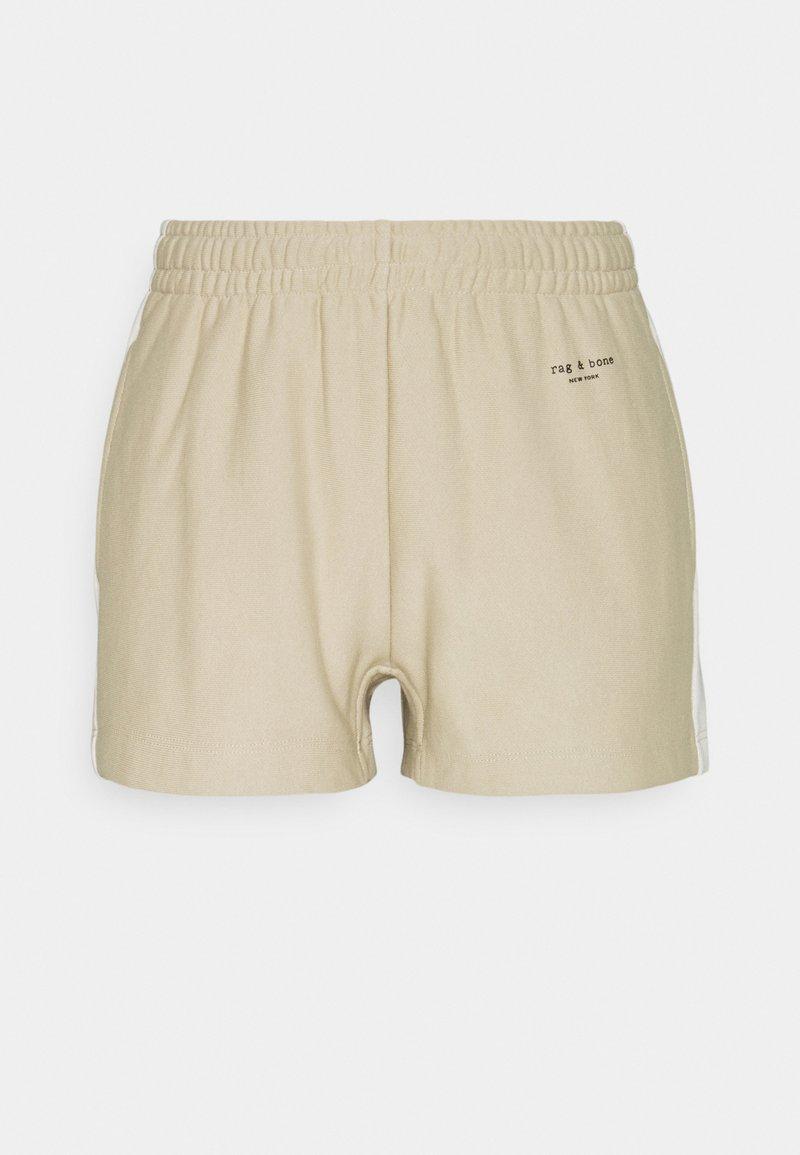 rag & bone - CITY MINI SHORT WHITE LABEL - Shorts - warm khaki