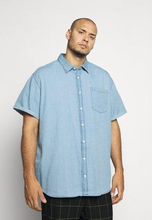 JCOKEN ONE POCKET  - Overhemd - light blue denim
