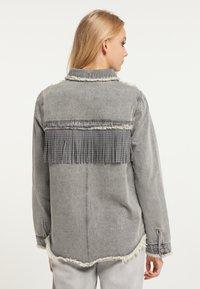 myMo ROCKS - Button-down blouse - grau - 2