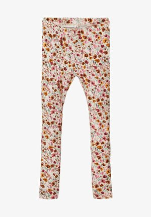 Leggings - Trousers - withered rose