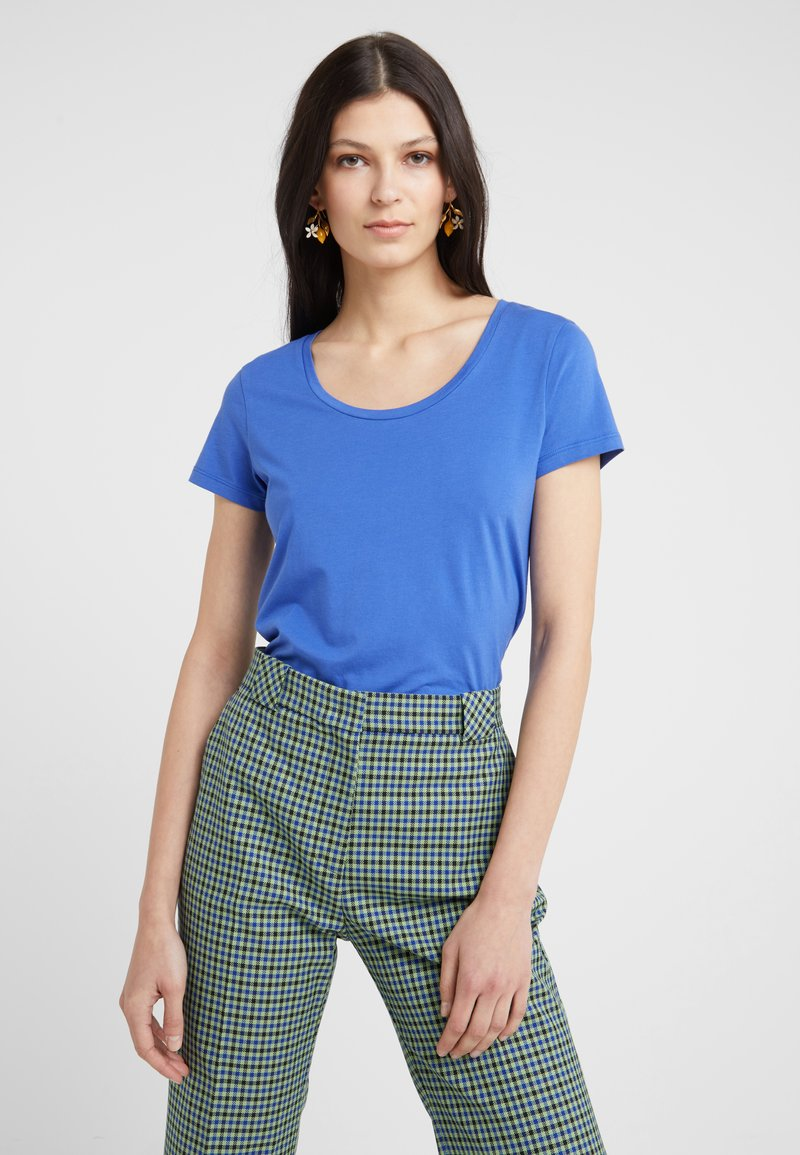 BOSS - TIFAME - T-shirt basic - medium blue