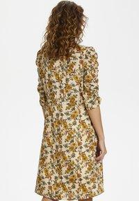Cream - EMMELIECR  - Day dress - tinsel flowers - 2