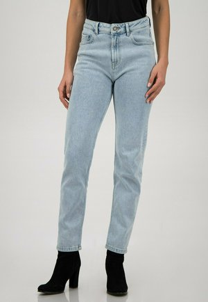 Straight leg jeans - light blue washed